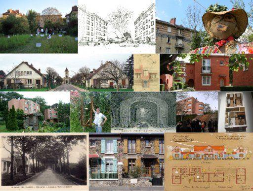 Montage Cités-jardins d'Ile-de-France