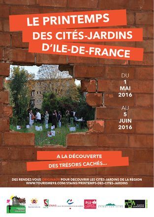 Printemps des cit s jardins en ile de france for Restaurant jardin ile de france