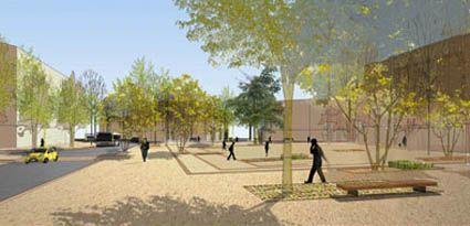 R novation urbaine de la cit jardin de stains for Agence empreinte paysage