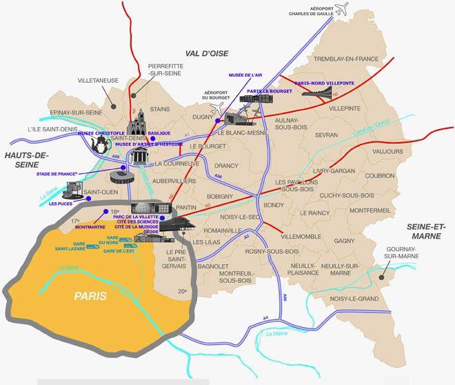 Les Sites Du Tourisme D Affaires Dans Le Nord Est De Paris