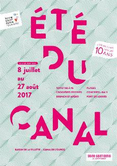 Eté du canal - Summer festival Paris 2017