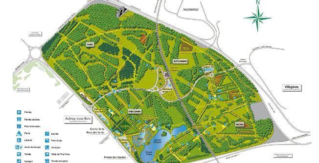 Sausset Country Park Aulnay Villepinte in Paris area # Parc Aulnay Sous Bois