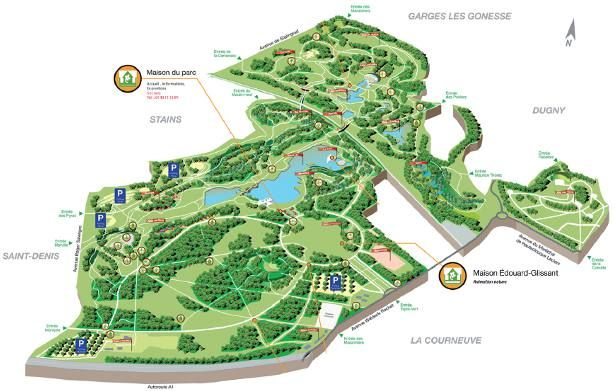 Image result for parc de la courneuve