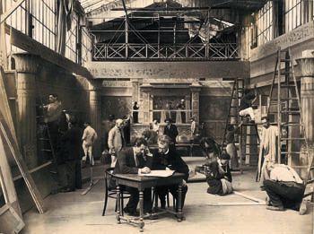Studio Pathé à Montreuil - Gilbert Schoon - collection Fondation Jérôme Seydoux-Pathé
