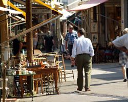 Paris Saint Ouen flea market