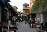 Flea market near porte de Clignancourt
