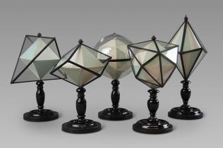 19th century crystallographic models stand Memento Mori