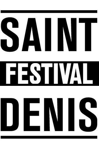Festival Saint-Denis - basique noir et blanc