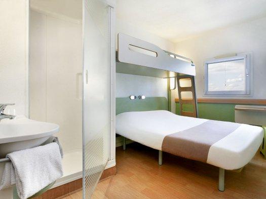 Hôtel Ibis Budget Villemonble chambre
