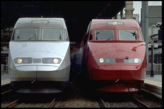 SNCF : Thalys et TGV