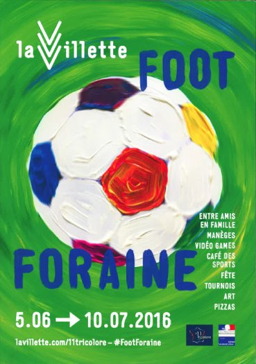 Foot Foraine à la Villette
