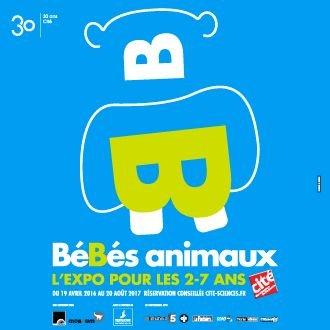 Exposition BB animaux à la Cités des sciences et de l'industrie - printemps 2016