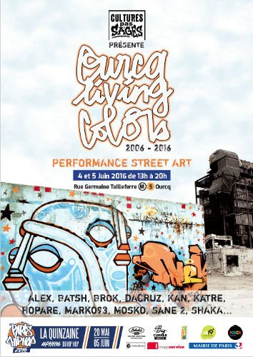 Ourcq Living Color 2016