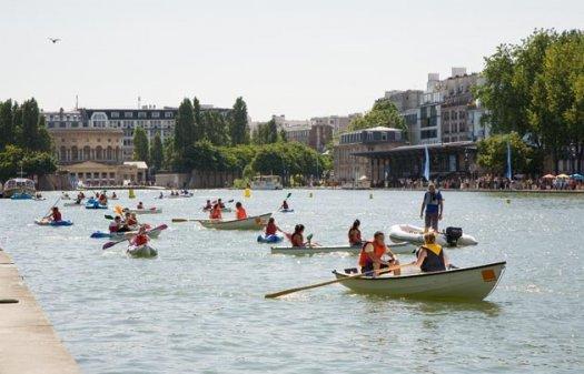 Base nautique de La Villette