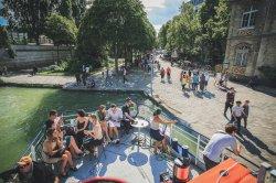 Summer cruise from Paris Bassin de la Villette