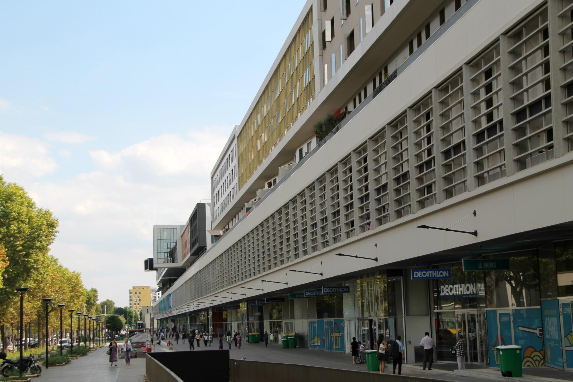 Quartier rosa parks macdonald paris 19 aubervilliers - Centre commercial porte d aubervilliers ...
