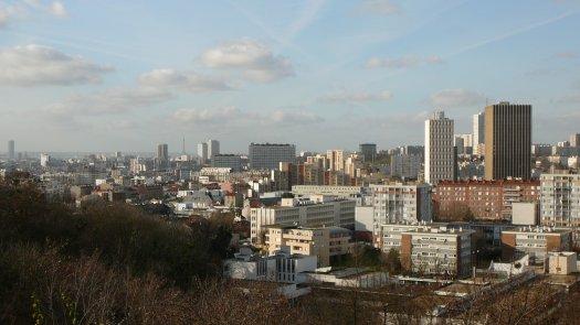 Parc des Beaumonts, vue sur Montreuil © Damien Boilley