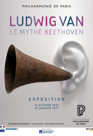 Mythe Ludwig Van Beethoven à la Philharmonie