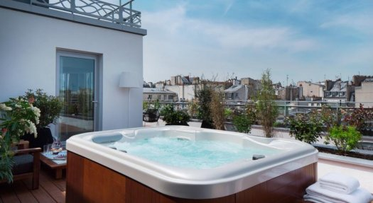 Hotel With A View In Paris And Seine Saint Denis