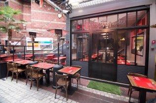 Les Gastropodes, restaurant inside Dauphine Paris Flea Market