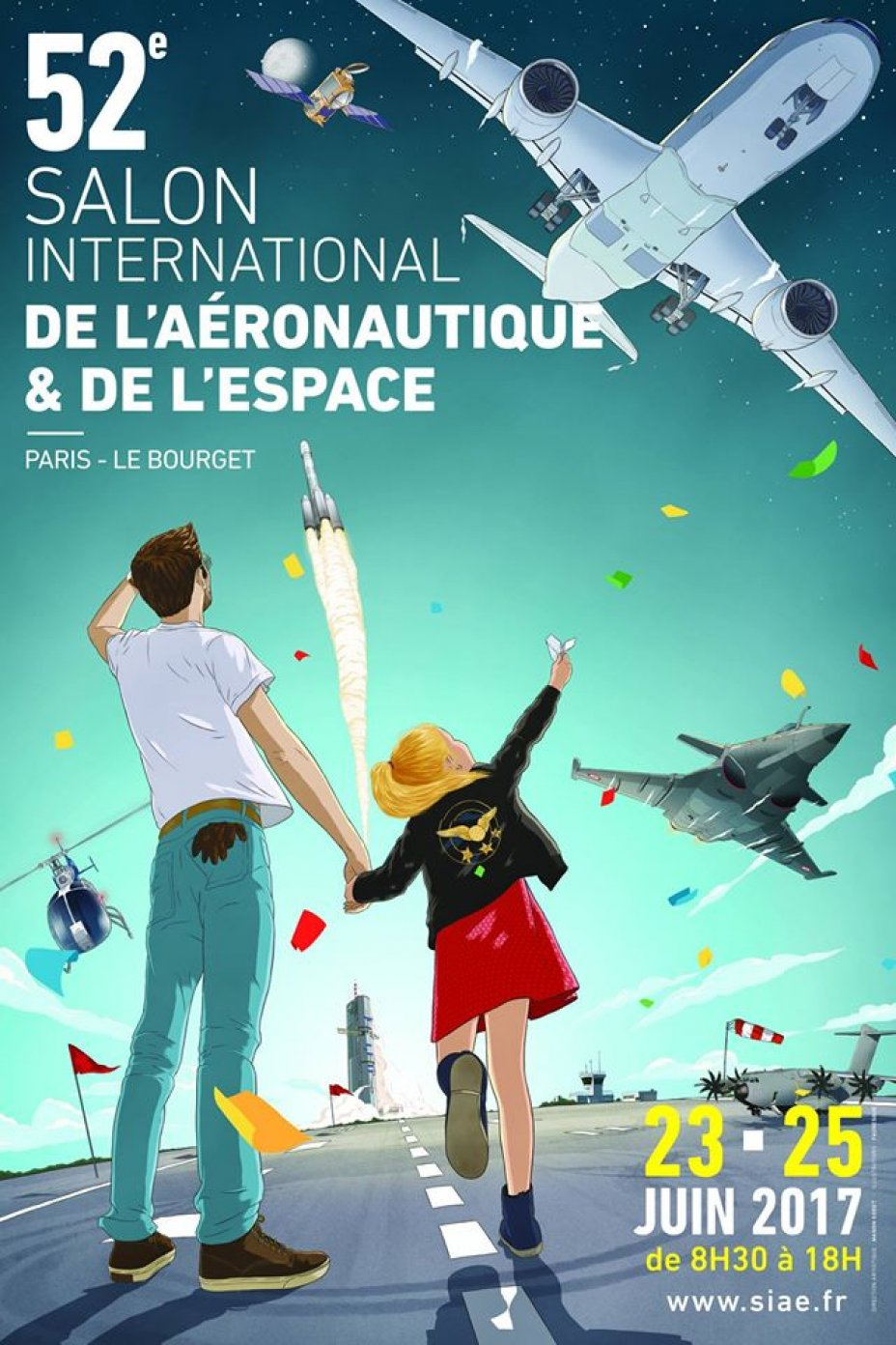 paris air show siae 2017 le bourget