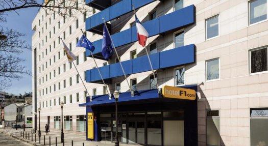 Hôtelf1 Porte de Montmartre
