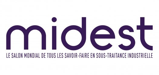 Logo Midest, salon pro de la sous-traitance industrielle
