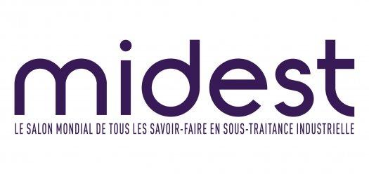 Logo Midest, salon pro de la sous-traitance industrielle
