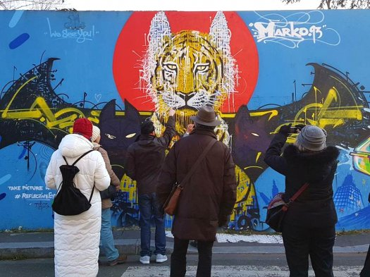 Marko93, balade graff Paris 19 © Seine-Saint-Denis Tourisme