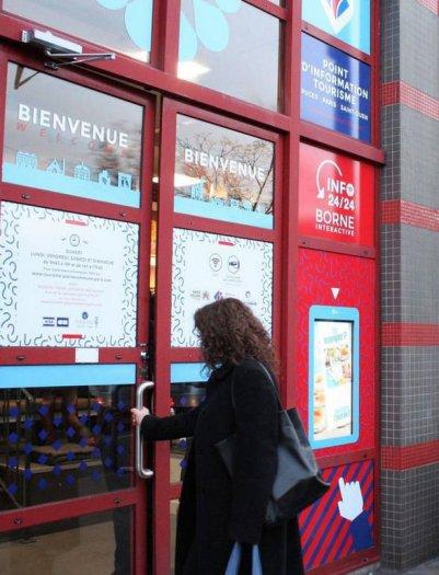 Bureau d'information tourisme Saint-Ouen - rue des rosiers