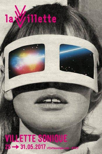 Villette sonique 2017 - affiche Sammy Slabbinck