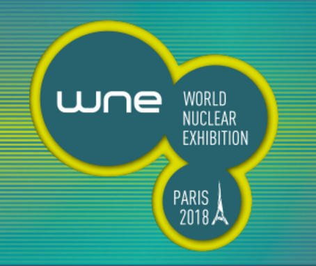 salon WNE - world nuclear exhibition 2018 Le bourget