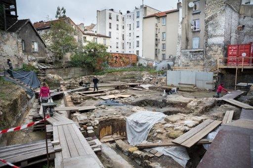 Excavation work in Saint-Denis. Seine-Saint-Denis Tourisme © J. Chevallier / ENS Louis-Lumière / 2015