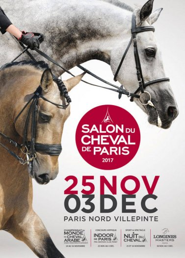 Le salon du cheval de paris 2017 villepinte comp tition for Salon du chien 2017 paris
