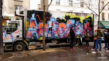 A new street art work in Belleville
