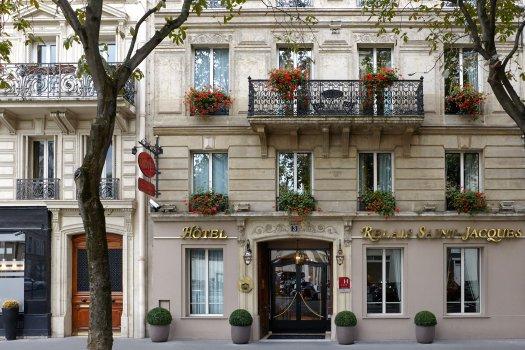 Vue exterieure de l'hôtel Saint Jacques Paris