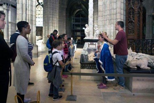 Visite-atelier Basilique Saint-Denis