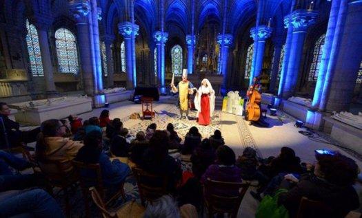 Conte musicale Basilique Saint-Denis
