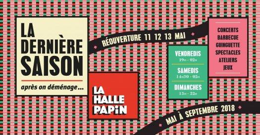 Halle Papin saison 3 - 2018