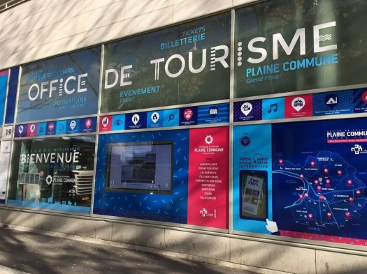 Point Information tourisme Stade de France - St Denis