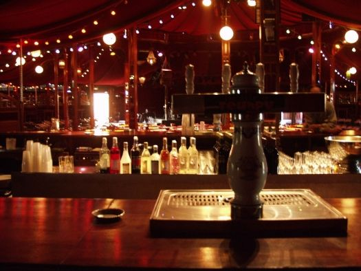 Cabaret Sauvage bar