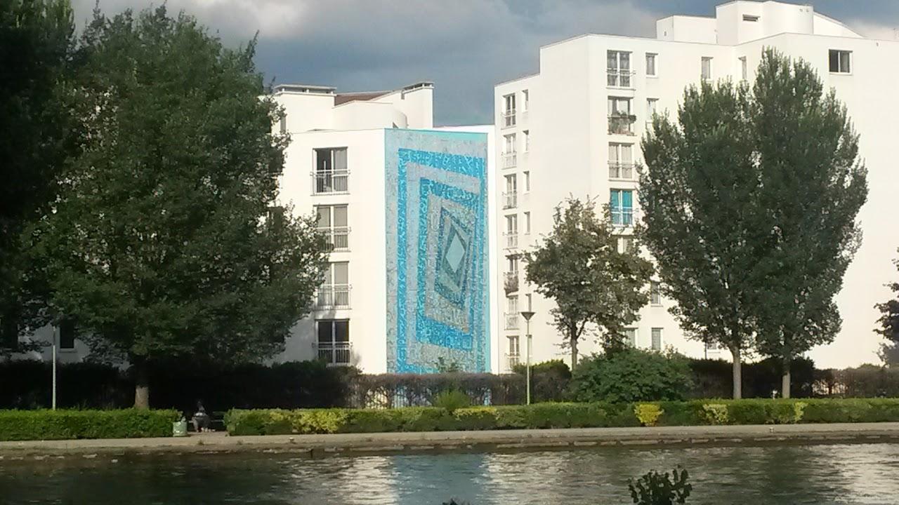 Oeuvre de Tarek Benaoum, street-art Avenue