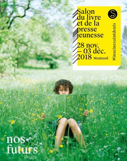 salon de livre de Montreuil slpj affiche 2018