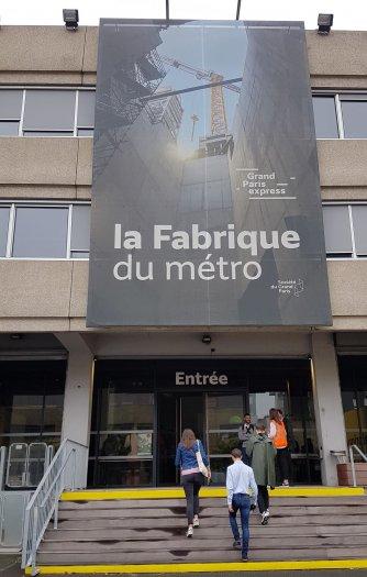 Fabrique du métro façade
