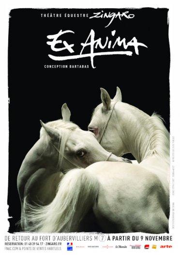 Ex Anima Zingaro, affiche 2018