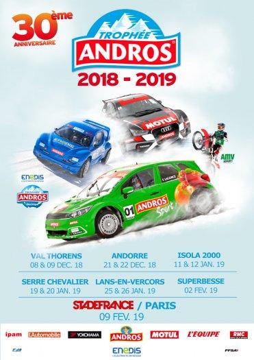 Affiche du Trophée Andros 2019