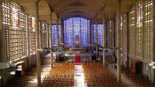 Eglise Notre-Dame du Raincy Vue de la tribune