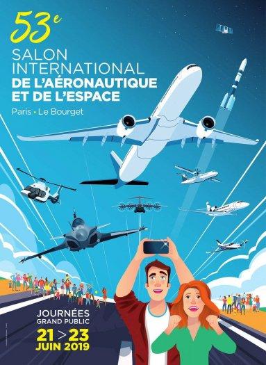 Affiche SIAE 2019 grand public - visuel via aaf (aero.fr)