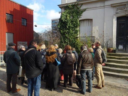 Une belle découverte pour les groupes avec une ciné-balade à Montreuil