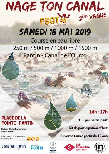 Nage ton canal 2019